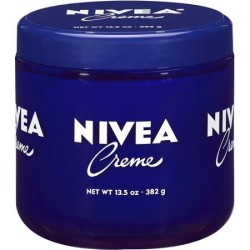(3 Pack) Nivea Moisturizing Creme 13.5 oz/ 382g Glass Jar in Package Fresh and Authentic! Unisex.
