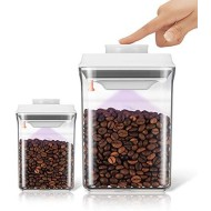 Ankou AirTight Push Pop Food Storage Container Set Value Pack for Cereal, Flour, Sugar, Pasta, Rice
