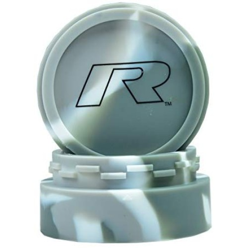 R Series V2 Non-Stick Platinum Cured Silicone Container (Large, Grey/White)