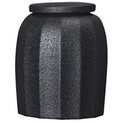 1 Pc Sealed Ceramic Storage Jar For Spices Tank Container For Eating With Lid Bottle Coffee Tea Caddy Kitchen 300ml Condiment bottles (Color : Black)