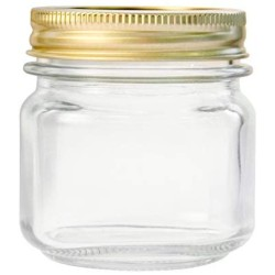 Anchor Hocking 10984 10984AHG17 1/2 Pint Home Canning Jars with Metal Lids and Rings Clear 12packs