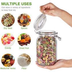 1150ml 3packs Wholesales plastic pet jar airtight food storage container set