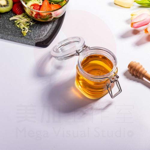 (12 Pack) 6 oz (150 ml) Victorian Square PET Jar storage jar with plastic PET Lid food jar plastic jar by Packaging For You