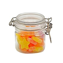 10 oz (250 ml) Victorian Square PET Jar  with PET Lid by Packaging For You