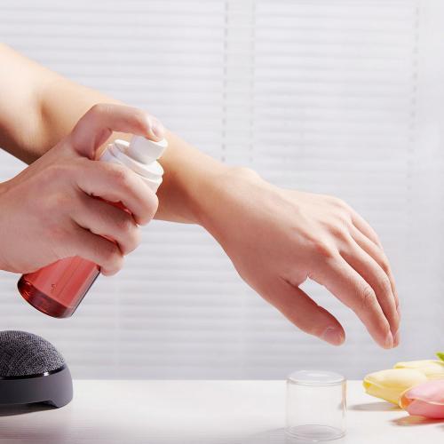 10ml/15ml/20ml/30ml/40ml/100ml Plastic Spray Pump Bottle for Skin Care Packaging Sample Packaging