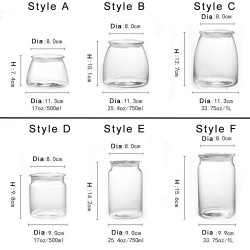 Libbey Vibe Glass Jars with Lids, 1pcs