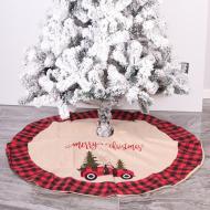 Christmas tree skirt 2020 Christmas decoration 105cm Christmas tree group hotel shopping mall home Christmas tree foot decoration